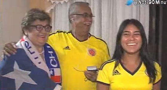 La cónsul de Chile en Cali observó el partido entre colombianos