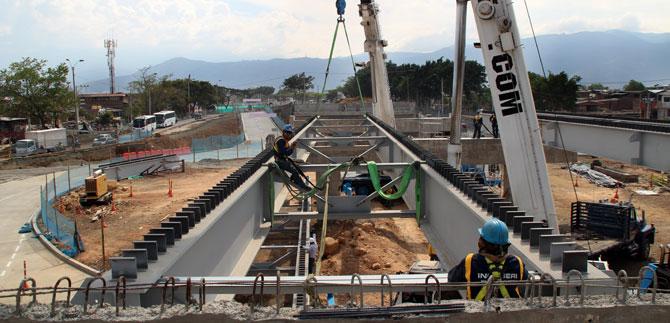 En diciembre entrará a funcionar puente de la Av. Ciudad de Cali con Cra 1ª
