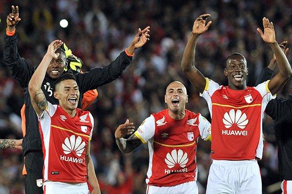 Santa Fe empató en Bogotá y se clasificó a la final de la Copa Suramericana