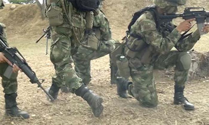 Soldado en el Cauca resultó herido con una ojiva de granada