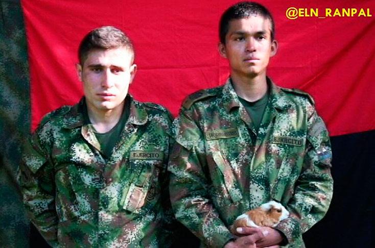 ELN dejó libres a los dos soldados secuestrados en Boyacá