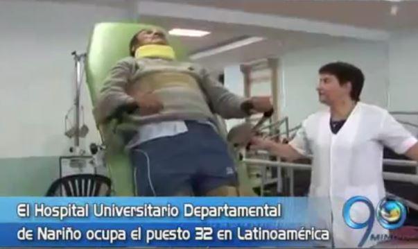 Hospital Departamental de Nariño entre los mejores de Suramérica