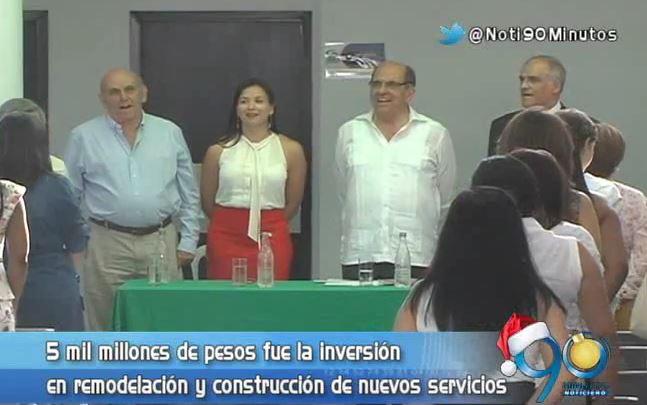 ESE Centro presentó la remodelación del Hospital Primitivo Iglesias