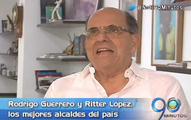 Rodrigo Guerrero fue destacado como uno de los mejores alcaldes del país