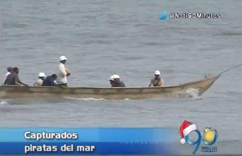 Capturan a sujetos que asaltaron embarcación y tiraron la tripulación al agua