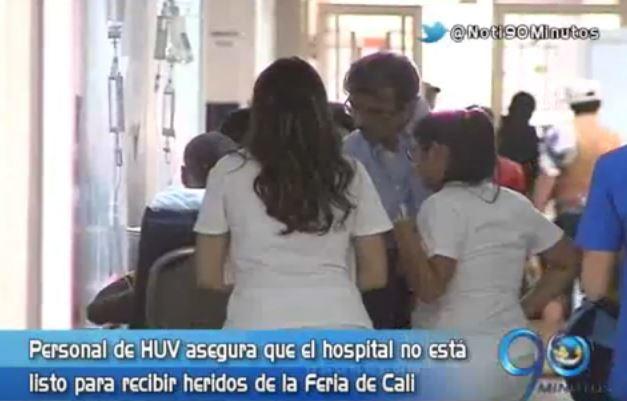 Personal del área de cirugías del HUV entró en paro