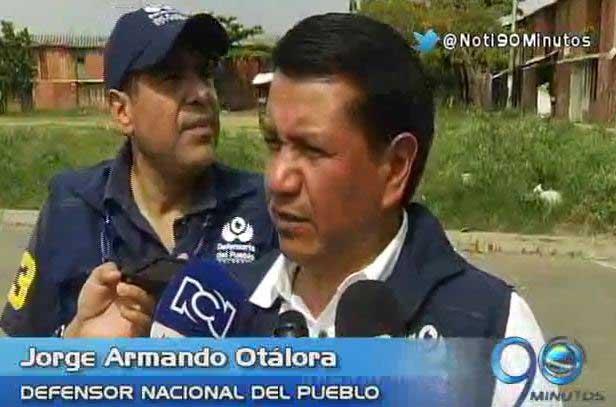 Defensor Nacional del Pueblo preocupado Potrero Grande