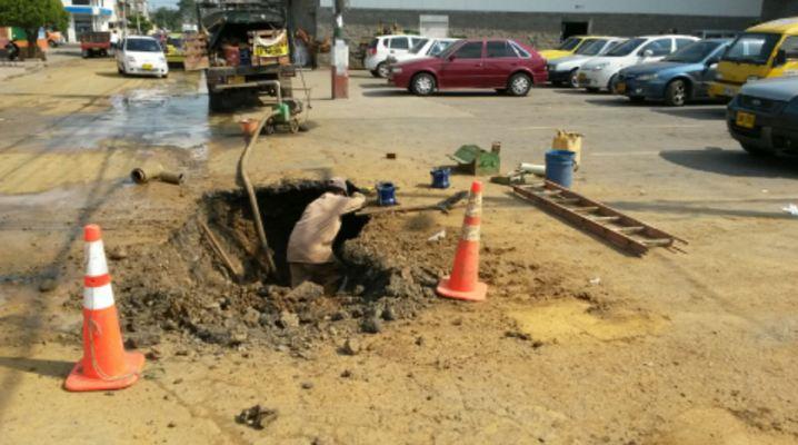 Habrán cortes de agua en sectores del norte y oriente de Cali