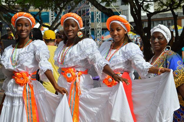 Galería: la magia de la cultura afro brilló en el Día del Pacífico