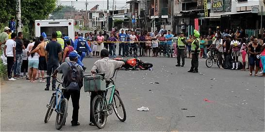 Valle, el departamento con más víctimas por accidentes de tránsito
