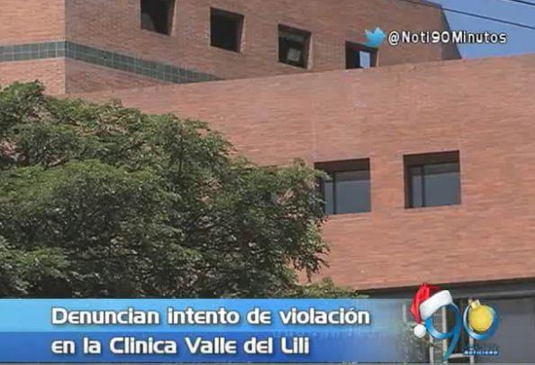 Mujer habría sido víctima de intento de violación en la clínica Valle del Lili