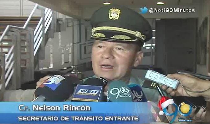 Coronel Rincón tiene como propósito fortalecer la Secretaría de Tránsito