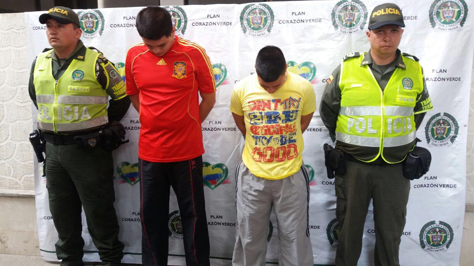 Capturados dos patrulleros de la Policía por millonario hurto