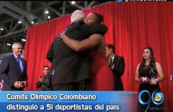 Deportistas vallecaucanos fueron distinguidos en los Premios Altius