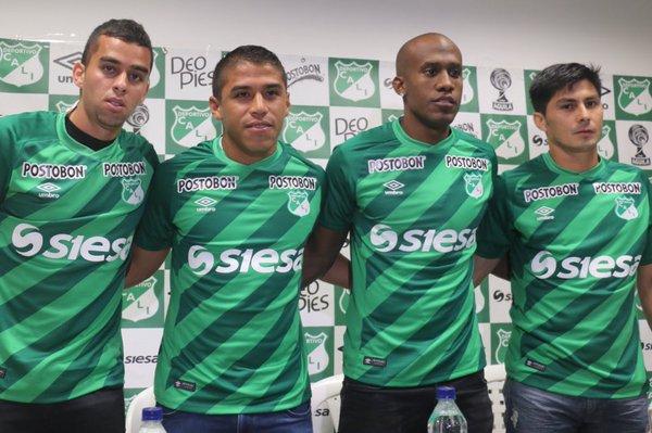 Deportivo Cali presentó los refuerzos que tendrá para el 2016