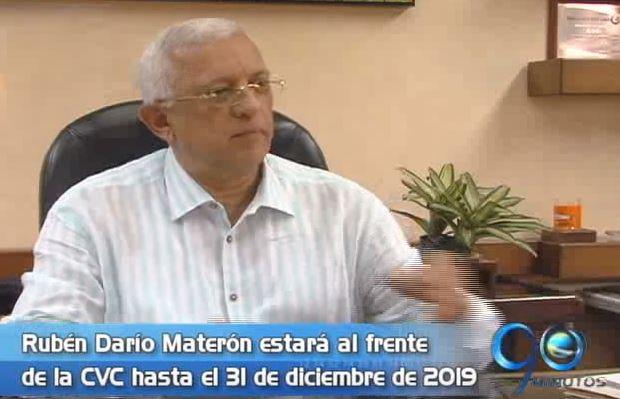 Rubén Darío Materón fue ratificado en la dirección de la CVC hasta el 2019
