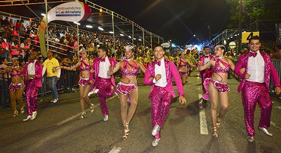 La fiesta de la salsa inauguró la Feria de Cali 2015