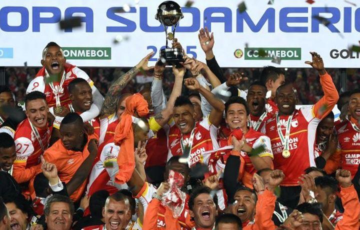 Santa Fe se coronó campeón de la Copa Suramericana