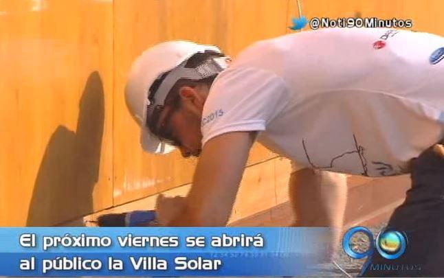 Villa Solar abrirá sus puertas al público el próximo viernes en el Solar Declathon