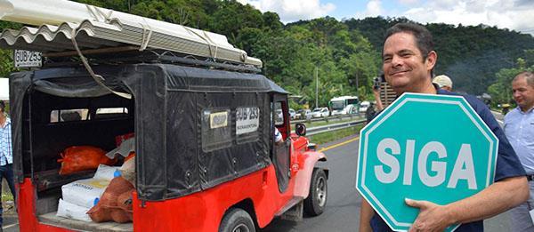 Vicepresidente inauguró tramo de la doble calzada a Buenaventura