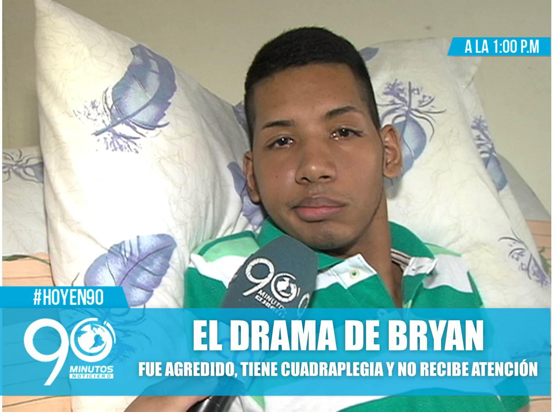 Bryan, el drama de una víctima anónima