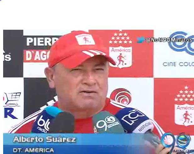 Lo que pase en los partidos amistosos no es para alarmarce: Alberto Suárez