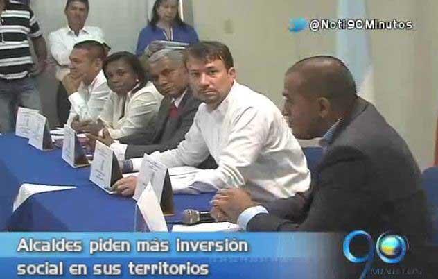 Alcaldes del norte del Cauca y sur del Valle piden más inversión social