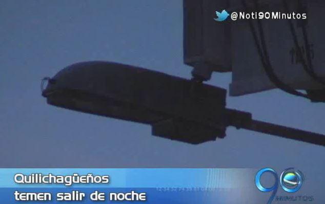 Santander de Quilichao lleva 45 días sin luz en el alumbrado público