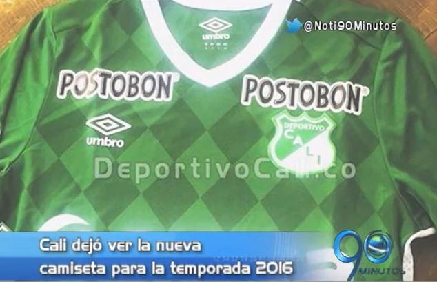 El Deportivo Cali ya dio a conocer su nuevo uniforme para esta temporada