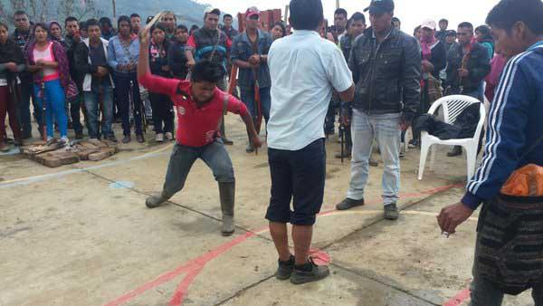 Hombre recibió castigo indígena por presunta violación a menor