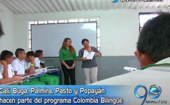 Programa Colombia Bilingüe beneficiará a principales ciudades del suroccidente