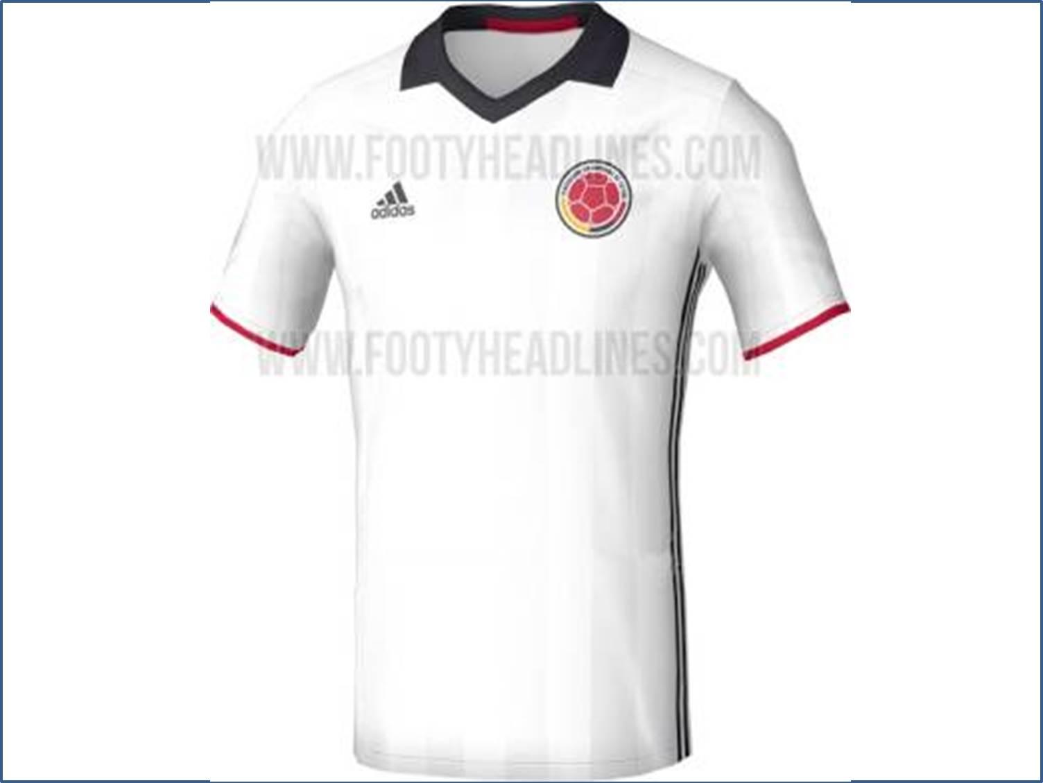 Un mensaje de paz traería la nueva camiseta de la Selección Colombia