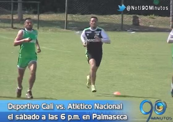 Deportivo Cali prepara primer partido de la Superliga ante Nacional