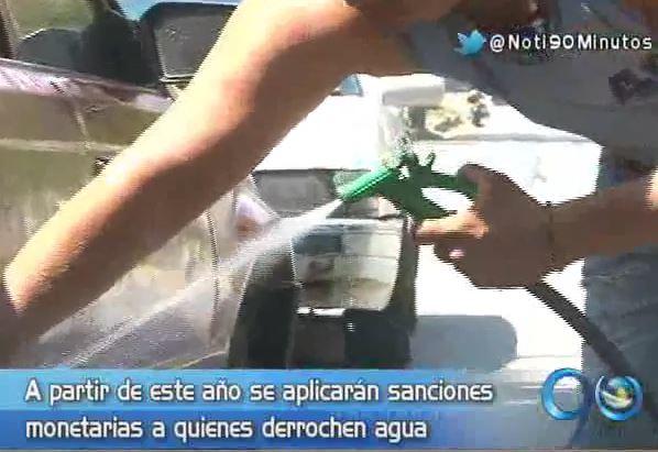 Dagma impondrá sanciones monetarias a derrochadores de agua