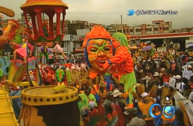 El resumen del Día de Negros en los carnavales de Pasto