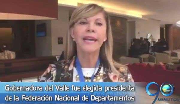 Dilian Francisca Toro, nueva presidenta de la Federación Nacional de Departamentos
