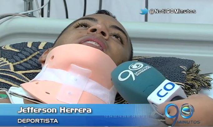 """""""Yo no le tengo rencor a nadie"""" así lo expresó Jefferson Herrera"""