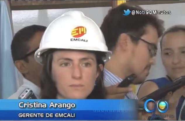 Cristina Arango se posesionó como nueva gerente de Emcali