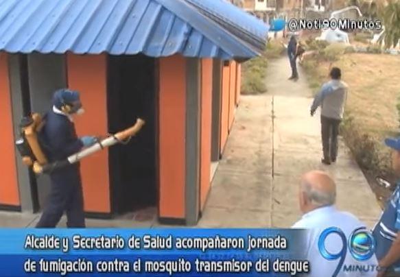 Alcaldía adelantó jornada de fumigación contra el dengue en la comuna 21
