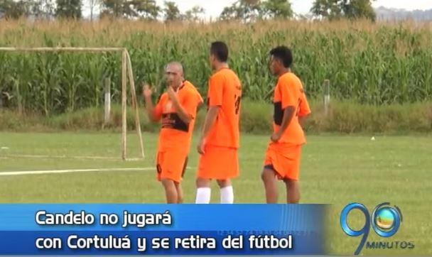 Mayer Candelo no irá a Cortuluá porque decidió retirarse del fútbol