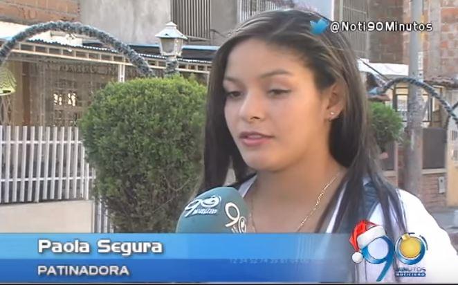 Paola Segura, escogida como mejor deportista del 2015 en el Valle