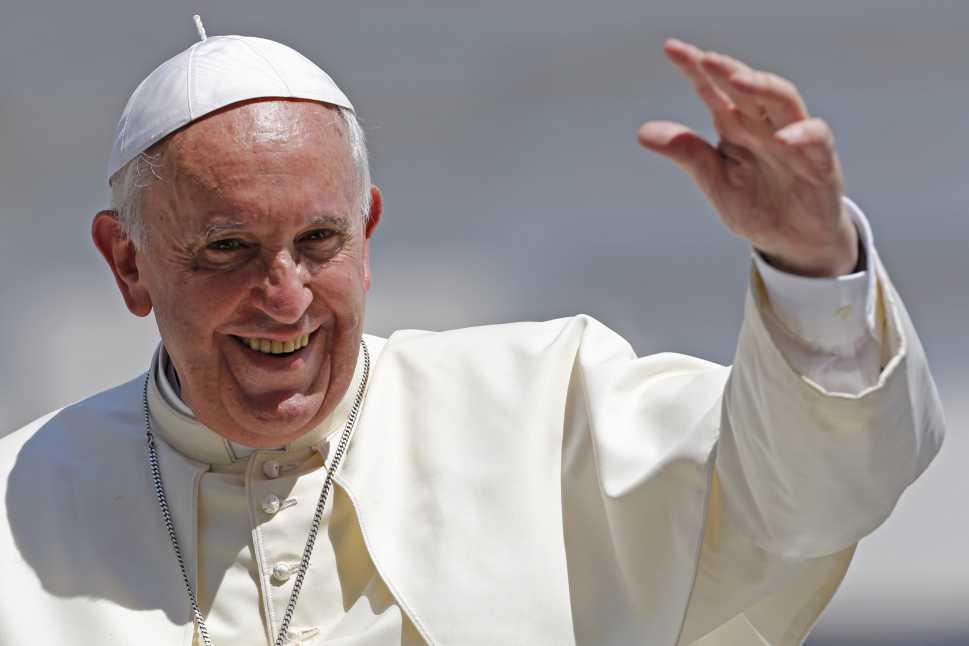 Papa Francisco visitará Colombia en 2017
