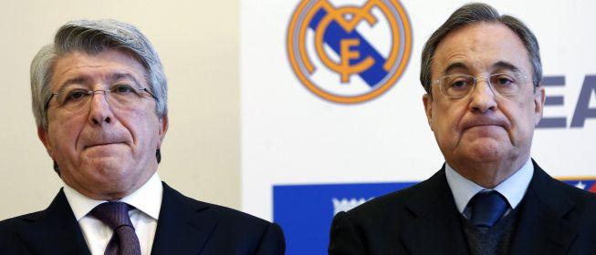Real Madrid y Atlético de Madrid no podrán inscribir jugadores hasta 2017