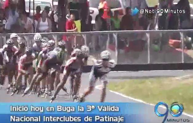 Inició la 3ra Válida Nacional Interclubes de Patinaje en Buga