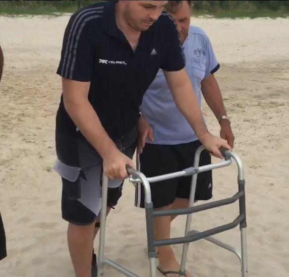 Así muestra su recuperación en su país el portero uruguayo Alexis Viera