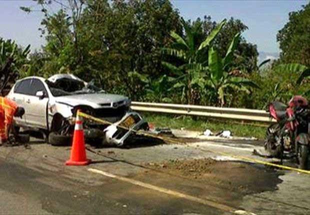 Accidente de tránsito dejó cuatro heridos de gravedad en Andalucía
