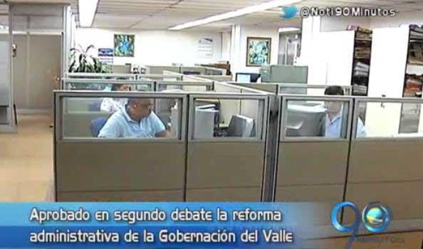 Avanza a buen ritmo reforma administrativa en la Asamblea del Valle