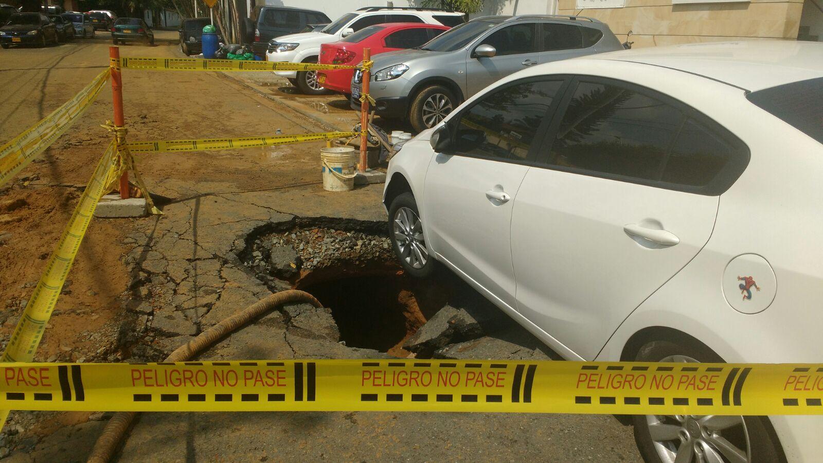 Dos accidentes se presentaron en la mañana de este miércoles en Cali