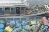 Armada Nacional decomisó más de 1 tonelada de cocaína en Tumaco