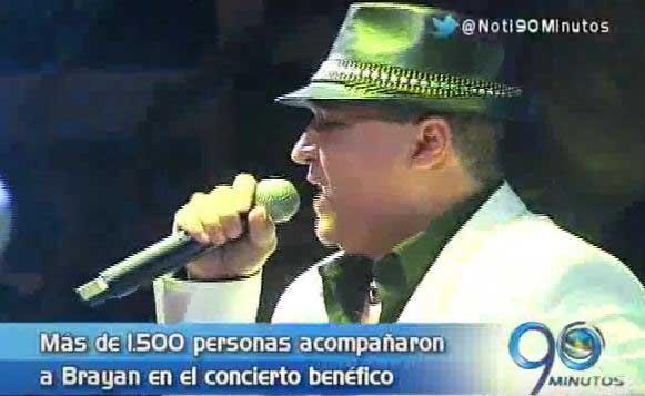 Artistas del concierto por Brayan se sumaron a la no-violencia